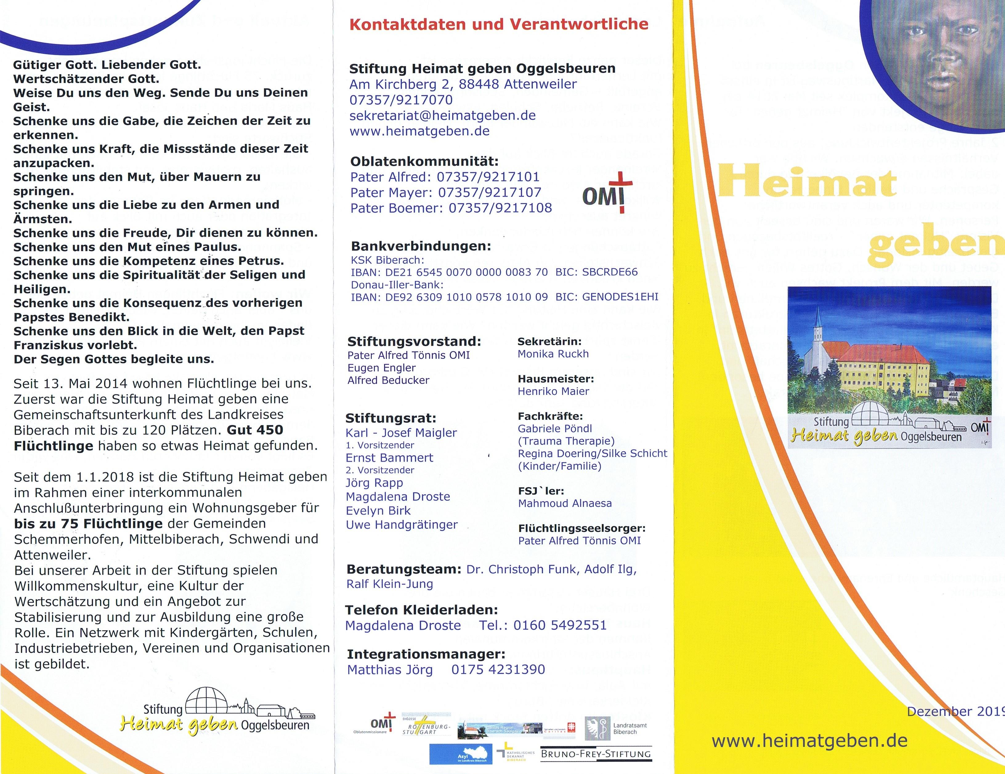 Download Flyer Heimat Geben Teil 2